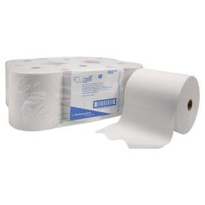 6 tekercsnyi kéztörlő papír zsugorfóliában