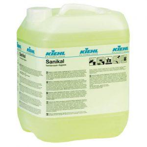 Kiehl Sanikal szaniter tisztítószer 10 literes kanna kiszerelésben.