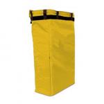 Sárga színű zsák