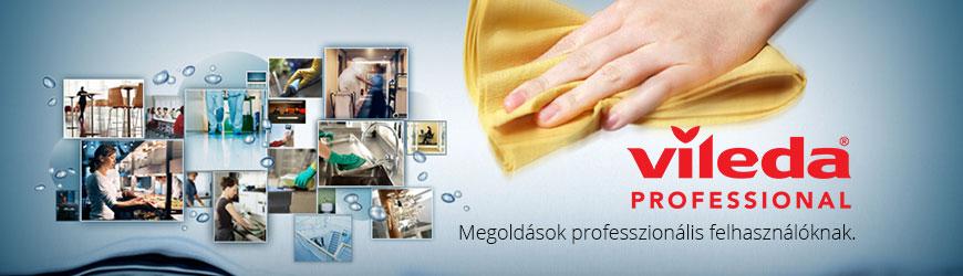 Vileda Professional: takarítási megoldások professzionális felhasználóknak