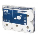 Termékfotó: Tork SmartOne toalettpapír tekercsek zacskós kiszerelésben
