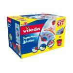 Termékfotó: a Vileda SuperMocio felmosó szett doboza