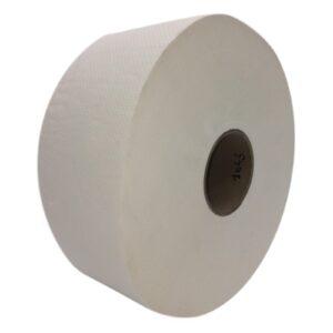 Nagytekercses toalettpapír hófehér színben